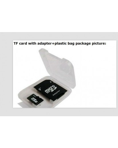 16 GB micro SD card inclusief SD adapter